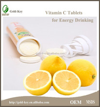 2014 Hot/Best Selling Product OEM/ODM Nutrition VC Effervescent Tablets 4g