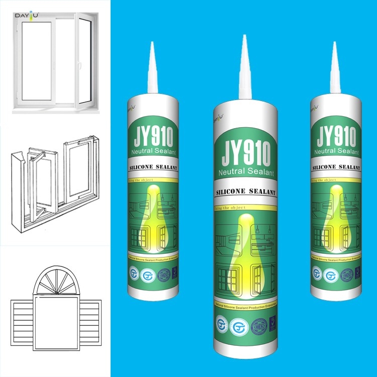 JY910 High Quality External Weatherproof Neutral Mastic Silicone Sealant