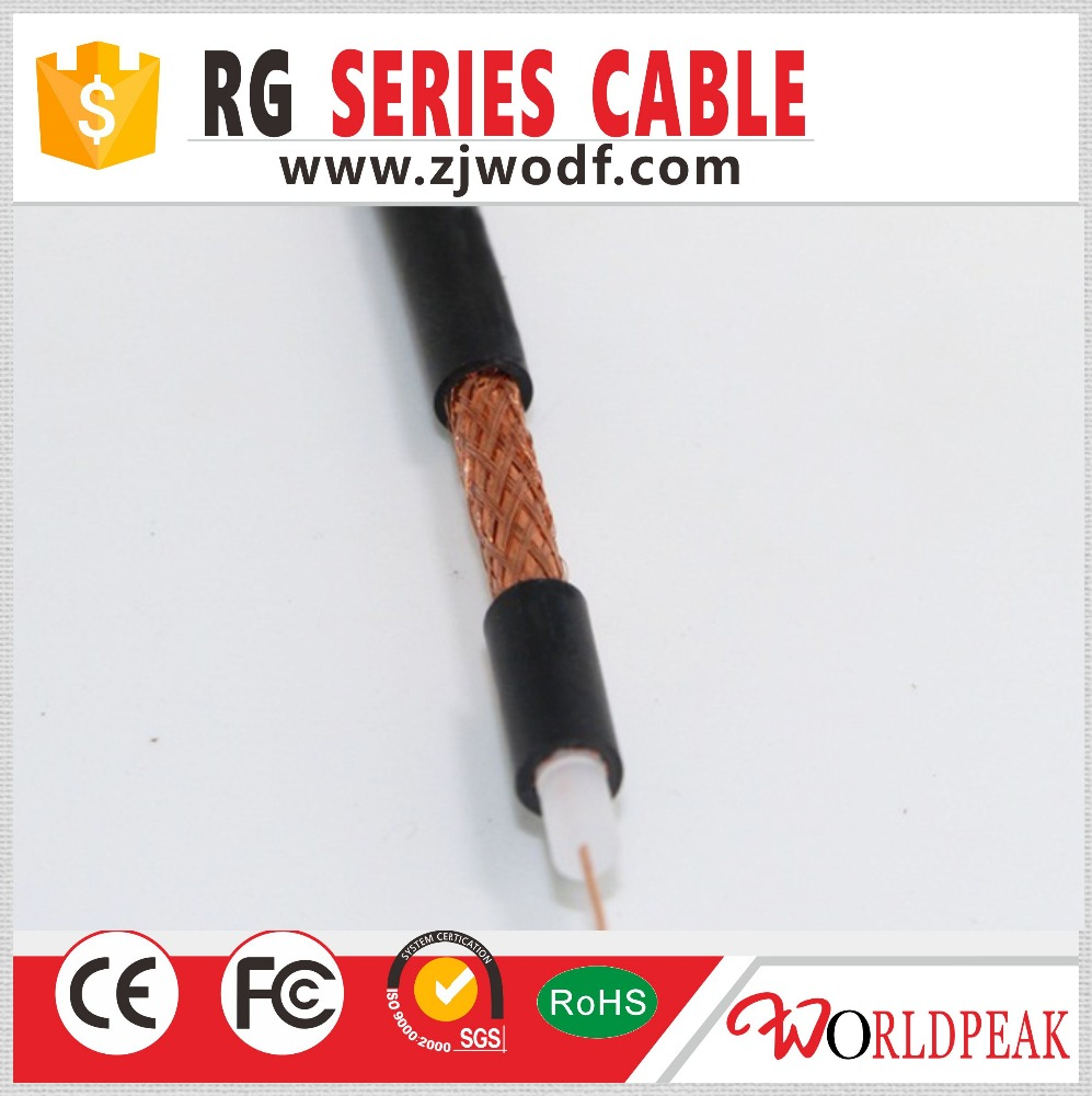 90%and up covering 0.81mm RG59/rg6/rg11/rg58/rg8 Coaxial Cable (FPE, SPE)
