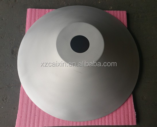 Round Cone Aluminum Bowl with anodizing surface, flat bottom round bowl,CNC metal spinning parts