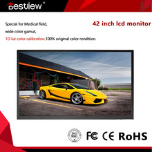 TFT color full HD 1080p LCD HDMI Vedio monitor 42 inch with SDI,HDMI input open frame embedded