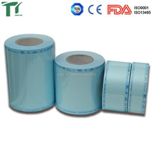 Manufacturers wholesale Medical/Dental Flat sterilization rolls pouch reels/bags/pouches/rolls