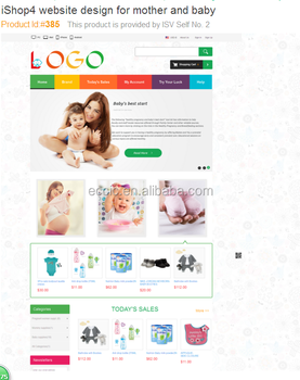 E-Commence Website Design & Development for monther and baby b2c Website for online store monther and baby