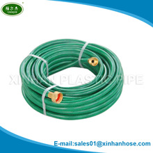 Ningbo/yuyao High quality 1/'2'' 16mm home&garden 25FT/50FT/75FT/100FT flexible PVC soft water hose with brass fittings