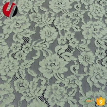 cotton lace fabric D055 grade wedding dress lace in stock