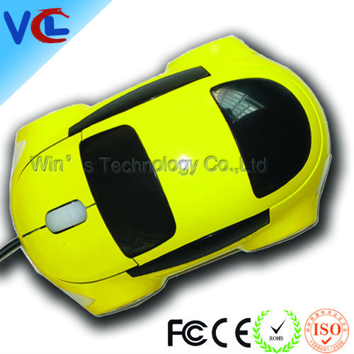 2012 latest usb race car computer mouse with different color for promo