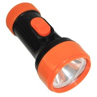 Free supply COC Certificate new plastic material 1D dry battery power led torch