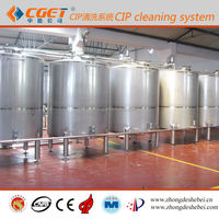 Equipment large beer production beer CIP system