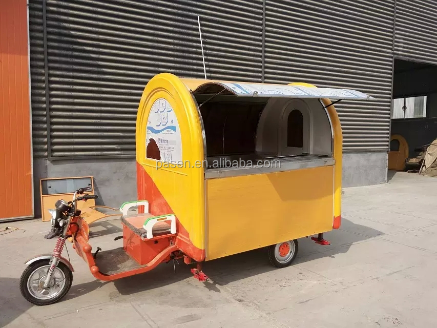 food van for sale / electric food car / mobile food trailers for sale
