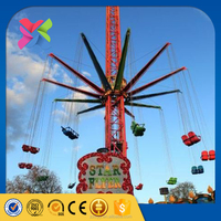 Lixin outdoor fun rides sky flyer old amsuement park rides for sale