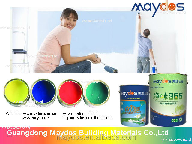 Water base Eco Friendly acrylic resin Anti mould wall drawing paint