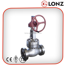 ANSI Gear Operated Flanged Globe Valve