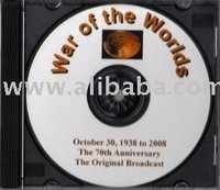 War of the Worlds Original Recording CD