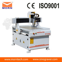 morn advertising cnc router 6090/mini wood design cutting machine For Pcb/pvc/aluminum