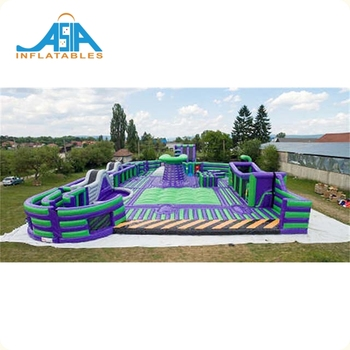 Inflatable Theme Park For Adults In Playground /Inflatable Theme Park