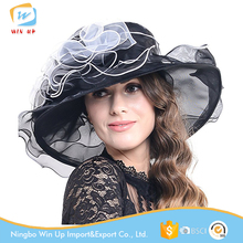 Winup Folding Sun Church hats For Kentucky Derby Wedding Party Beach Travel Outgoing