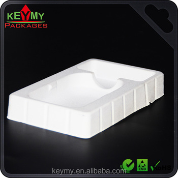 White accept custom order tray for electronic uses and other uses