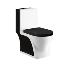 One Piece Siphonic Sanitary Ware Ceramic Toilet