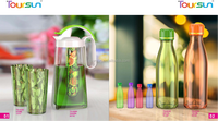 2016Best seller and top design colourful tritan water bottle