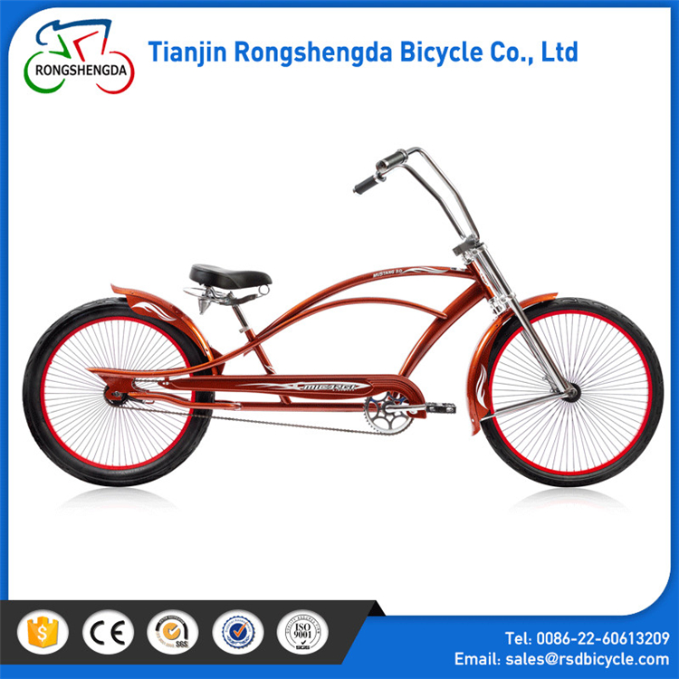 2017 High Quality factory wholesale Mens Beach Cruiser bike 27.5 inches/ Chopper Bicycles