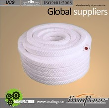 China Supplier Sealing Material Silicone Rubber Core Ramie Fiber Gland Packing