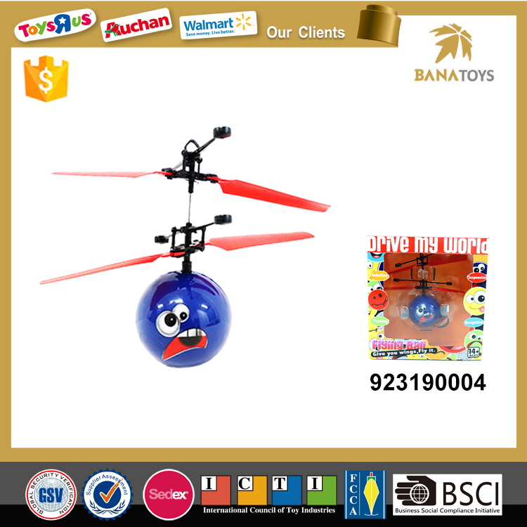 Hot sale flying ball toy remote helicopter
