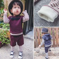 CB10003 hot selling winter three pieces boys suits