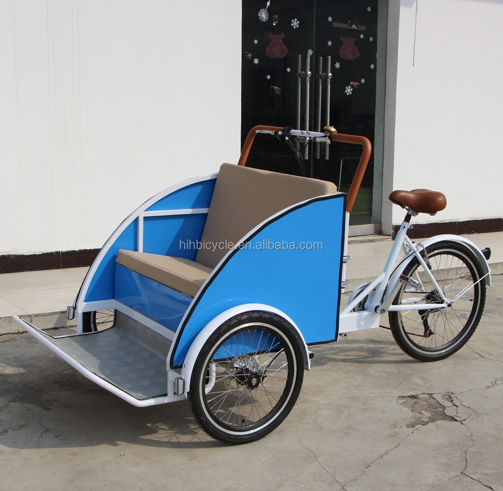 backwards bike rickshaw reverse bike for factory sale