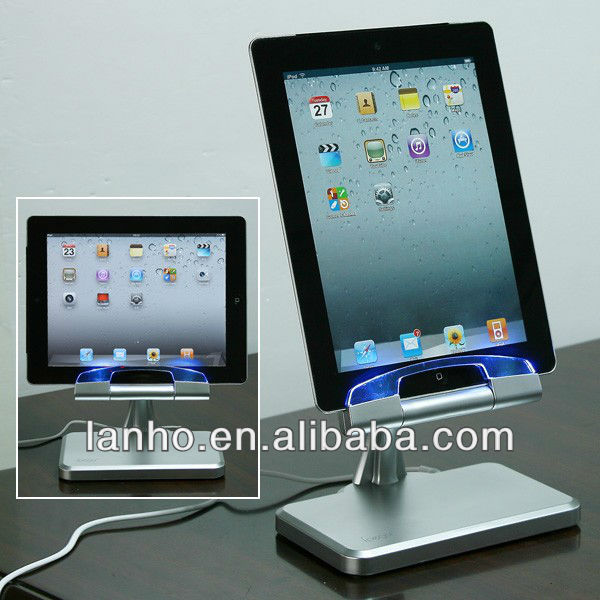Desktop USB Charger Charging Dock Station Cradle Stand For iPad 2 New ipad US