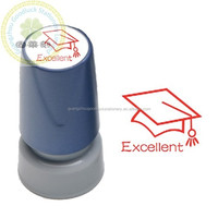Custom design self inking stamp /Well done rubber stamps for teacher/Well done rubber teaching stamps