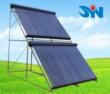 Thermosiphon solar power water heater collector, u pipe solar hot water heater system