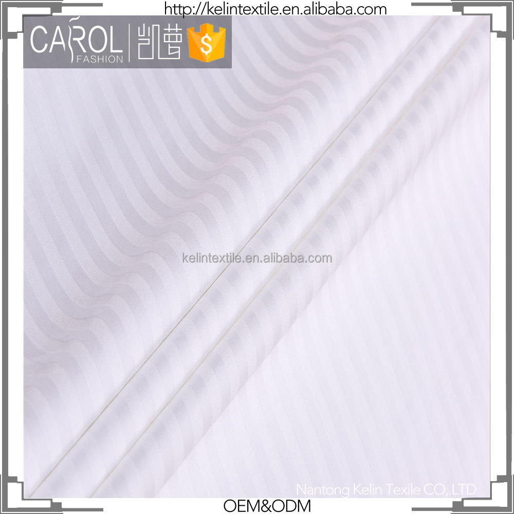 100% cotton stripe fabric satin 0.5cm 1cm 3cm fabrics