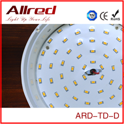 energy efficient dimmable surface mounted recessed round circular panel industrial indoor led light smd downlight lighting