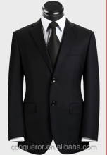 2015 new trendy men black business suit