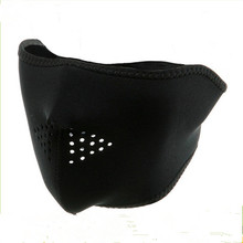 Best quality cheapest cycling and driving neoprene half face mask