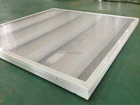 LED lighting louver 4*8W, prismatic crystal cover, SMD2835