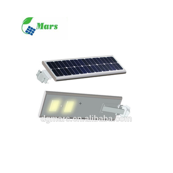 2017 Most popular durable all in one solar street lights with brackets and lamp