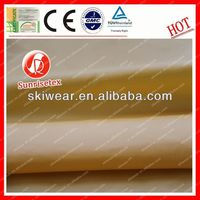 Functional Water Resistant air permeable polyester fabric