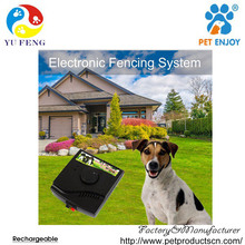 Electronic Pet Fencing System, Dog Fence with Shock Vibrate Beep Collar Wired Underground