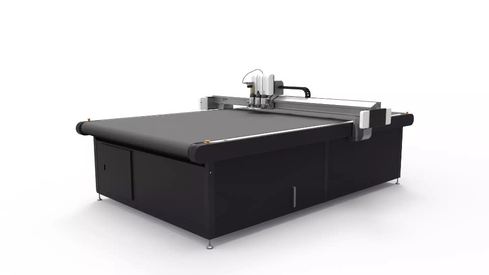 IECHO Cutting machine for cardboard D Board display