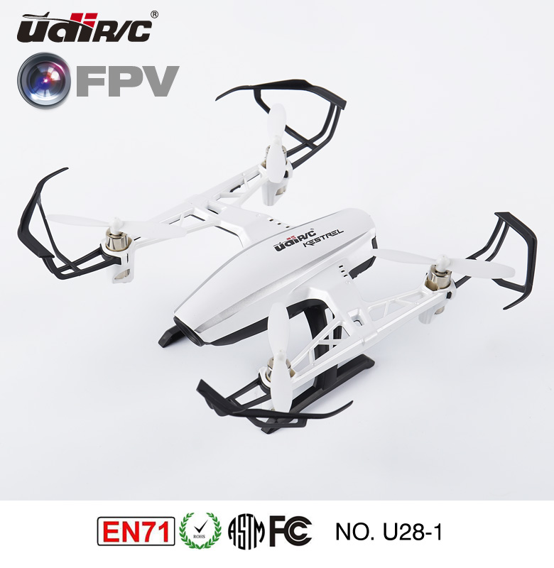 2016 UDIRC KESTREL 2.4Ghz FPV drone with HD camera and monitor control U28-1