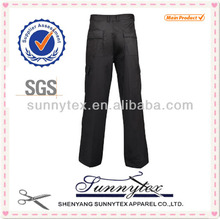 OEM service mens cotton work trousers