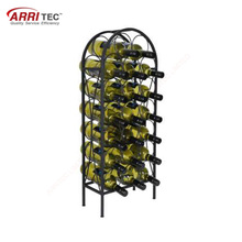 Large Online Shopping Wine Display Rack