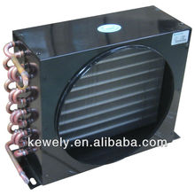 Copper pipe air cooled condenser