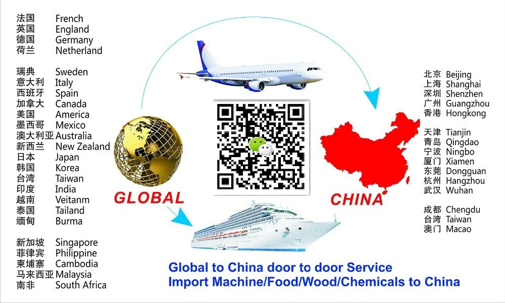 International door to door courier service