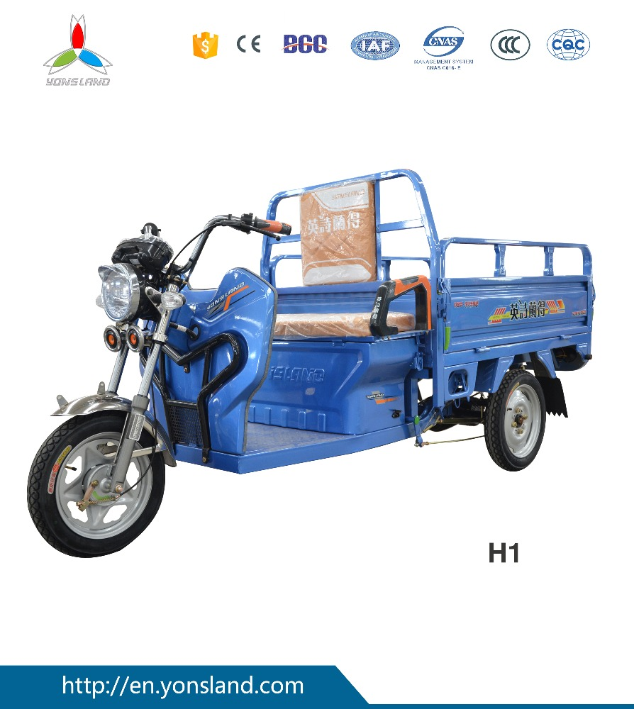 Steel Big wheels motorcycle truck 3-wheel tricycle for adluts