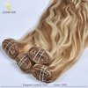 Wholesale Hong Kong 2015 Hot Selling Kinky Straight Clip In Hair Extensions