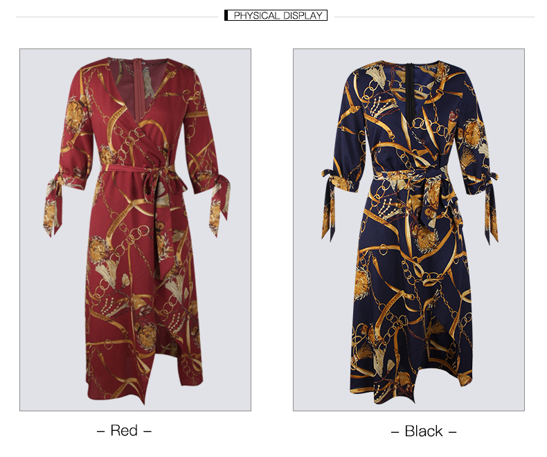 Casual trendy fashion custom sexy women clothing wholesale cardigan side split maxi wrap dress