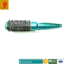 Anti-oxidation rolling rubber handle hair brush