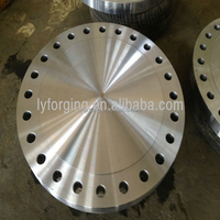 china 8'' ansi b16.5 class400 carbon steel blind flange